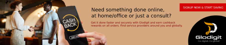 Glodigit - Serve & Get served locally and globally