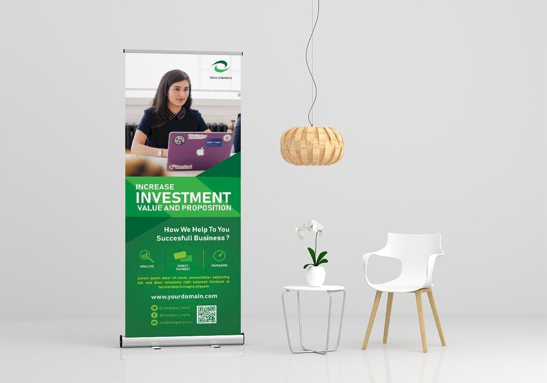 presentation template designed by creative studio