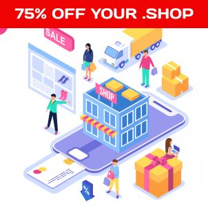.SHOP is now on sale. Register your .shop domain name and grow your online/offline shop faster