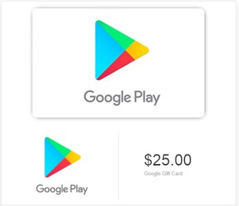 Google Play Gift Card - Give a gift of multiple digital entertainment