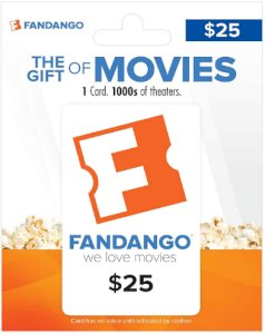 Fandango Gift Cards - Give a gift of movie/theaters tickets