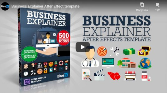 After Effect Template - The Business Explainer